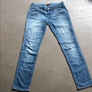 Paige Jimmy Jimmy Skinny Jeans Tigerlily Wash